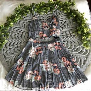 Summery two piece dress